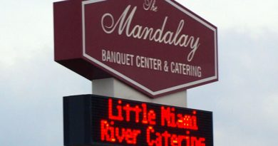 Mandalay/Little Miami River Catering ready to serve