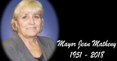 """Mayor Regina """"Jean"""" Matheny: 1951-2018"""