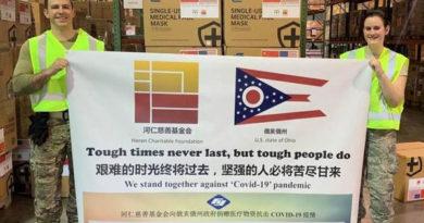 Fuyao donates 1 million disposable masks