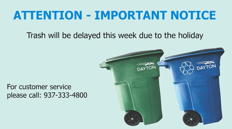 Trash Service Delay